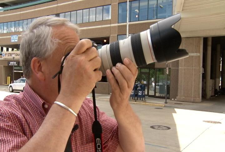 Longtime Post Bulletin photographer, Jerry Olson, retires