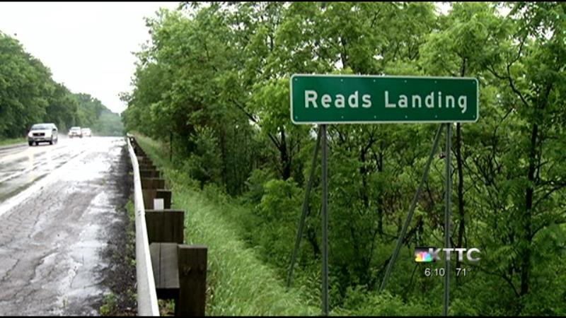 It's easy to zoom past Reads Landing on Highway 61. But if you do, you're missing a piece of Minnesota history.