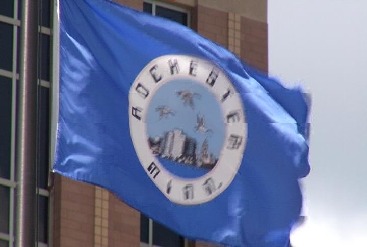 Rochester's city flag
