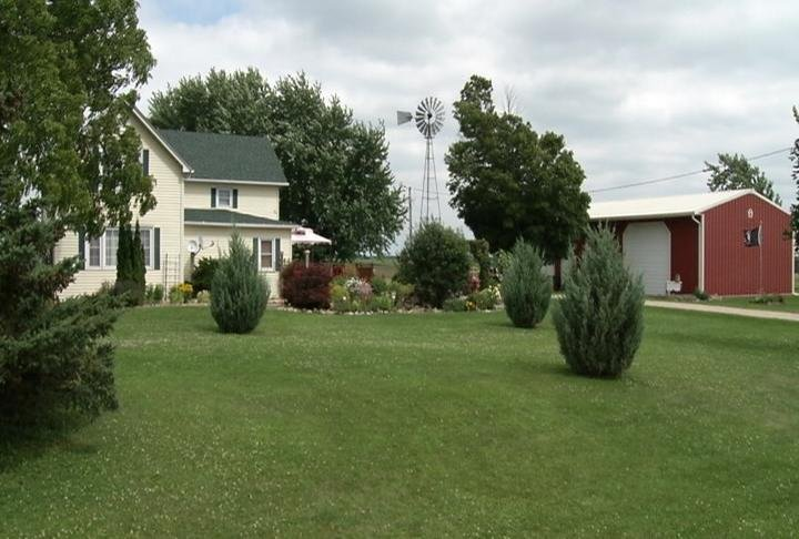 Penny Hoekstra's home sits just north of proposed lot