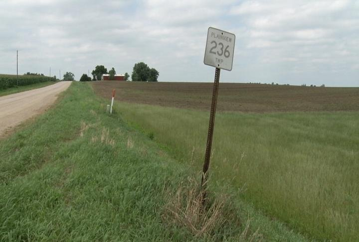 Lot where proposed feedlot would be built