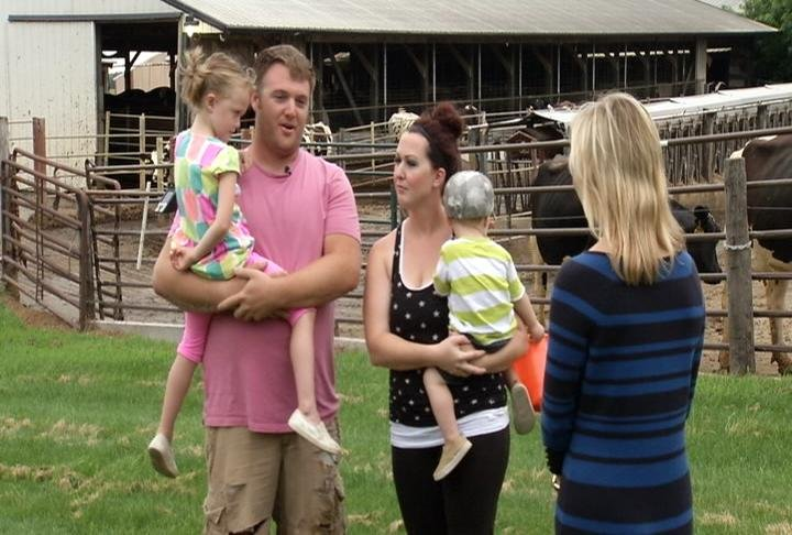 Matt Zabel and family are fourth generation dairy farmers