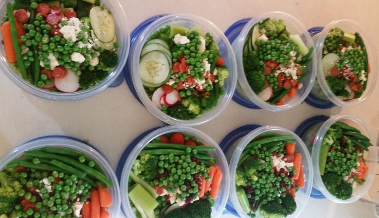 Steph Anders' salads
