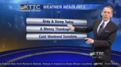 Wednesday Weather Headlines