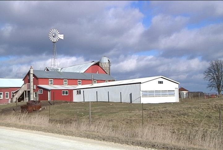 Yoder's farm near Utica