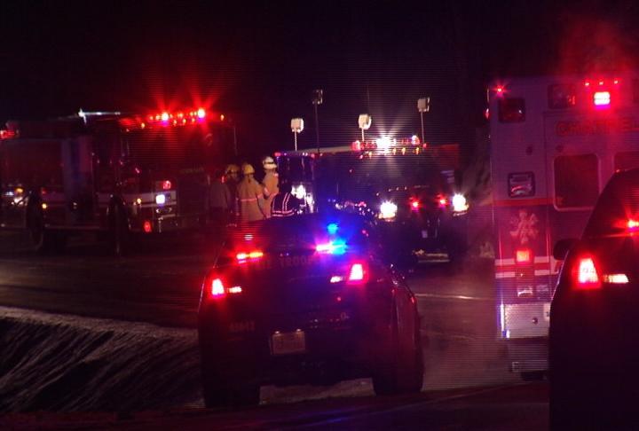 Crews respond to a fatal crash on Highway 52 near 300th Street