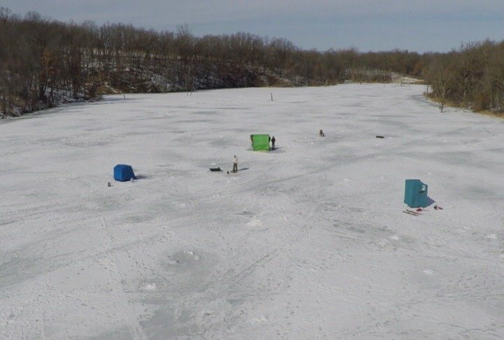 Mild weather ahead could mean the end of ice fishing for Ice fishing tournaments mn 2017