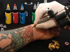 Ap A New State Law That Went Into Effect Jan 1 Requires Tattoo S And Their Artists To Get License But Officials Say Enforcement Of The