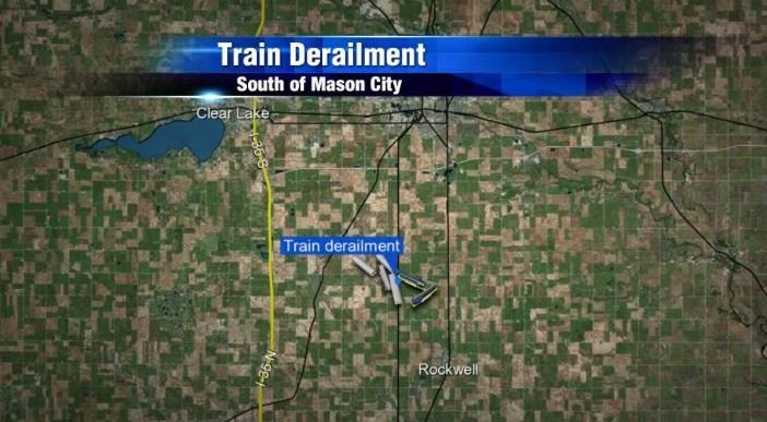 Investigation continues after train derails south of mason for Community motors mason city