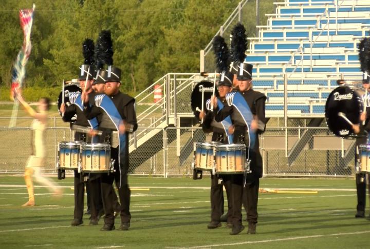 River city rhapsody drum and bugle corps show returns to for Champion motors waterloo iowa