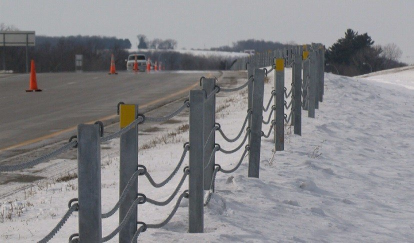 Highway cable median barrier effectiveness kwwl