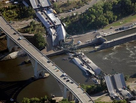 democrat myth wrong forget years i-35w bridge minneapolis minnesota reminder