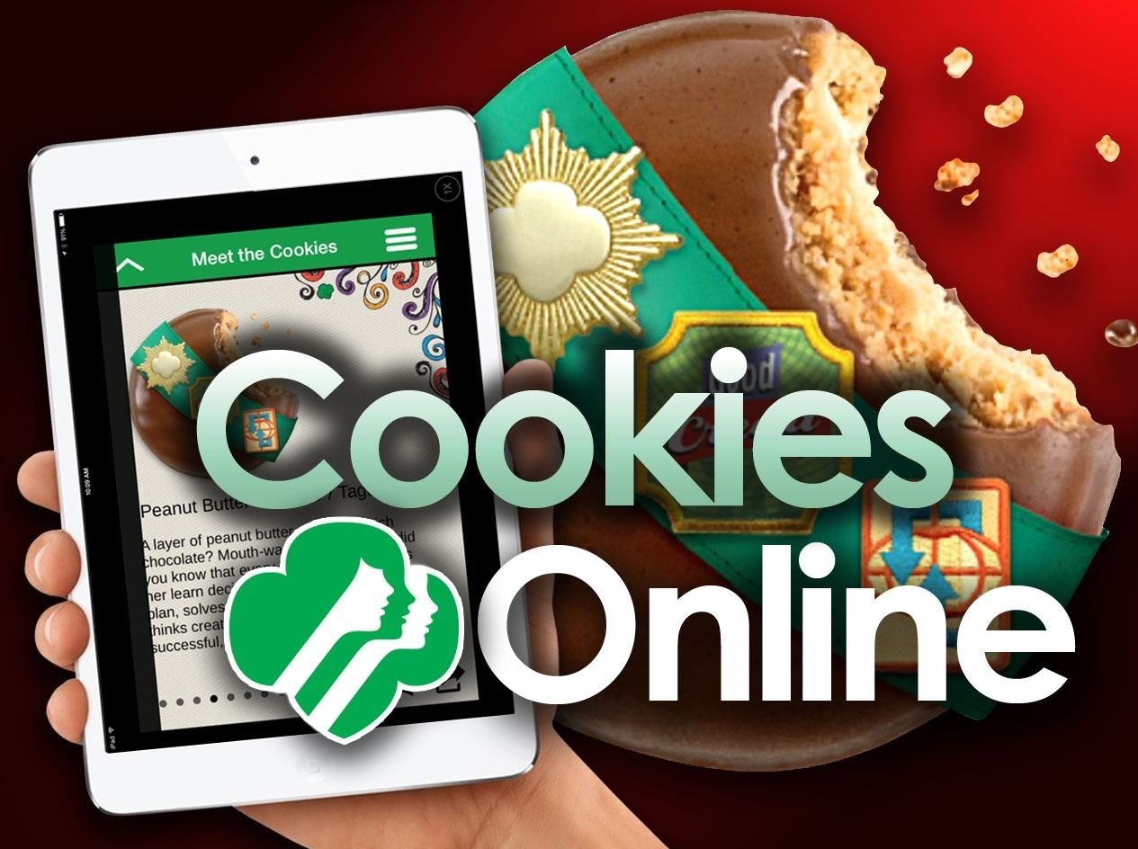 update no online cookie sales for girl scouts in