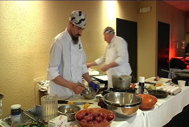 Local iron chef competition crowns new champion for for Champion motors waterloo iowa