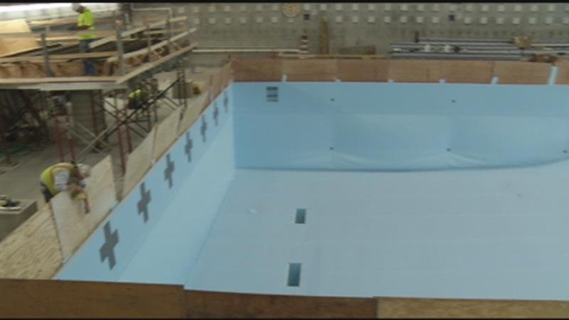 Rochester Recreation Center Indoor Pool Nears Completion Kwwl Eastern Iowa Breaking News
