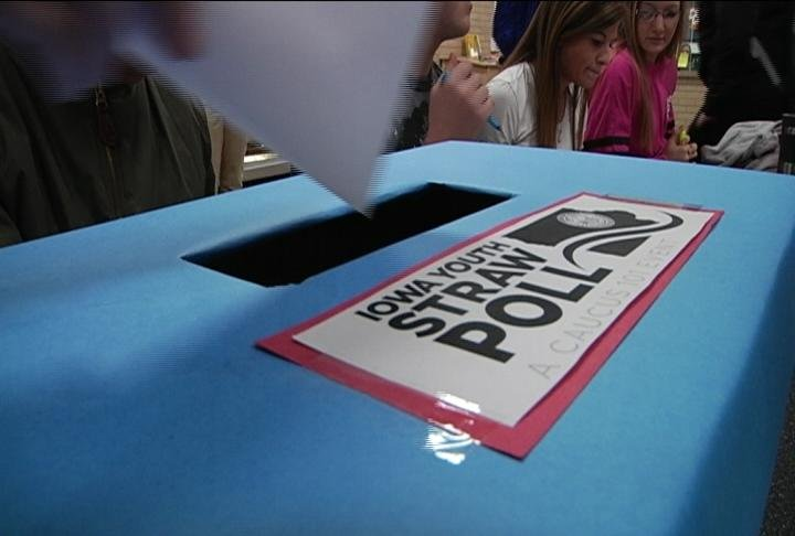 Students across Iowa take part in Youth Straw Poll - KWWL ...