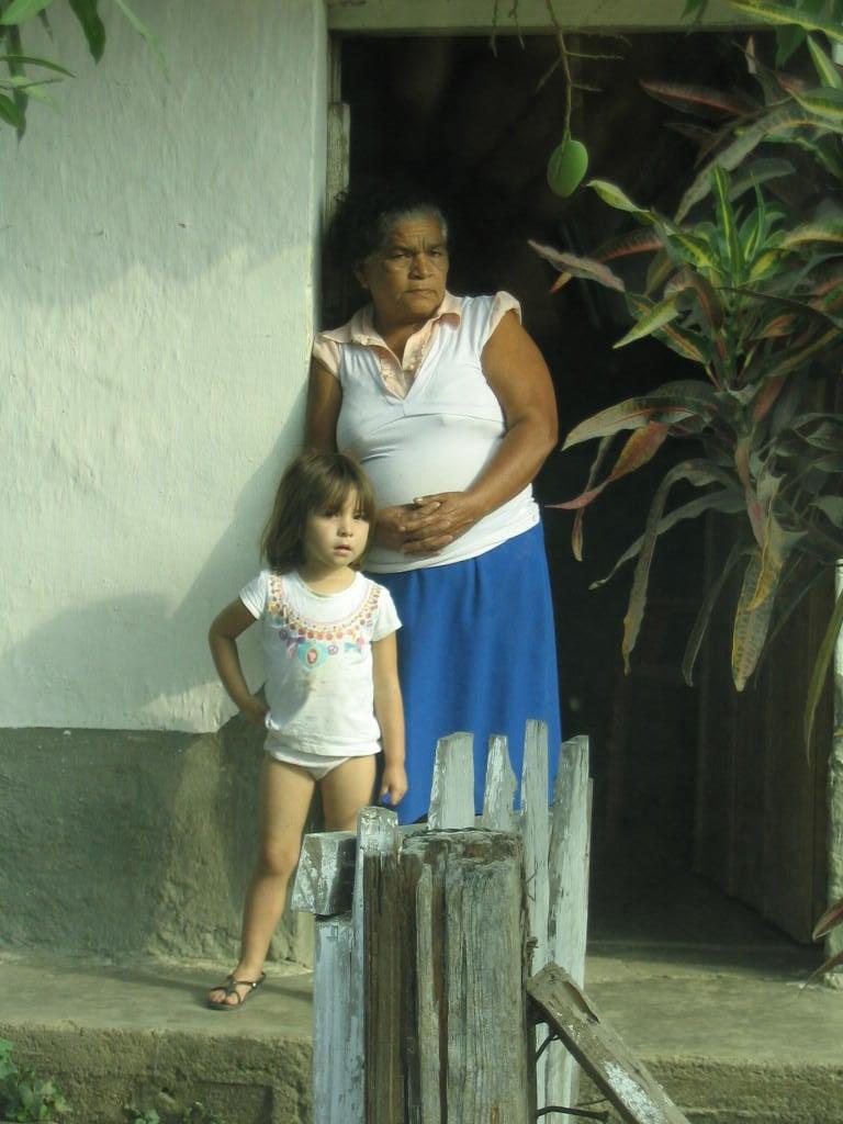 Grandmother & grandchild