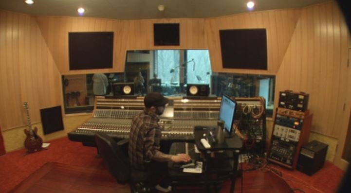 A look from inside Pachyderm Recording Studio
