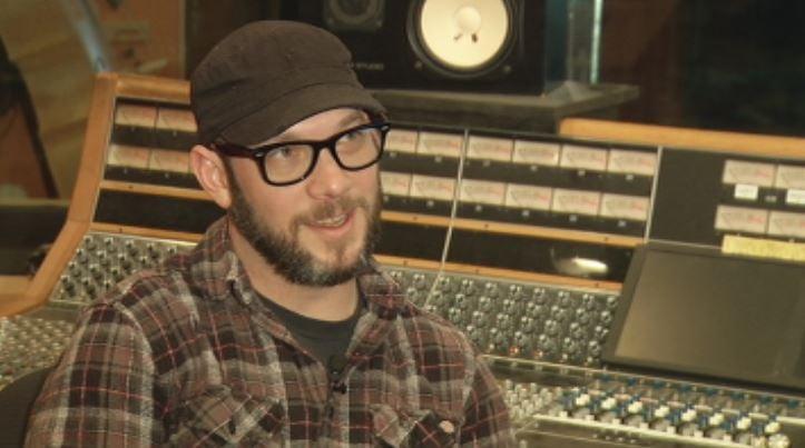 Studio manager Nick Tveitbakk