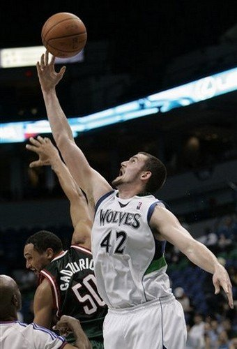 Kevin Love -- 31 rebounds, 31 points, the NBA's first 30-30 game in 28 years