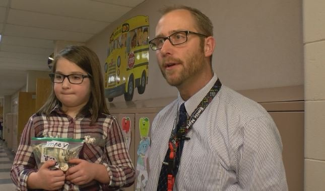 Principal Nick Jurrens praised Rory's selfless act.