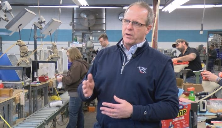 Dan Riegelman is the Vice President and co-owner of Riedell Skates in Red Wing