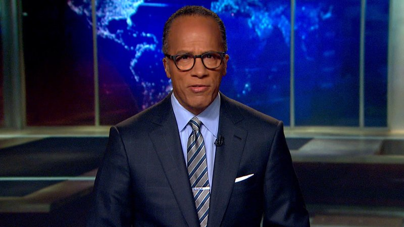Lester Holt Named The Permanent Anchor Of NBC Nightly News